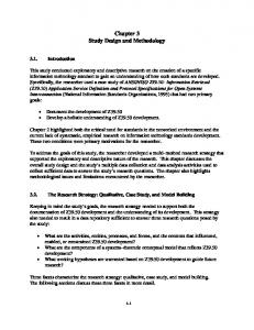 Chapter 3 Study Design and Methodology