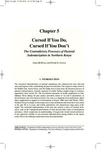 Chapter 5 Cursed If You Do, Cursed If You Don't - Christopher B. Barrett