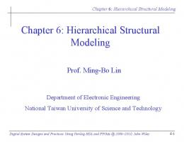 Chapter 6: Hierarchical Structural Modeling - Wiley