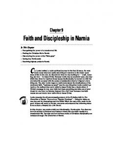 Chapter 9: Faith and Discipleship in Narnia - NarniaWeb