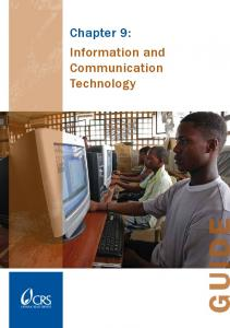Chapter 9: Information and Communication Technology - K4Health