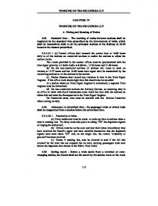 Chapter - IV - Indian Railway