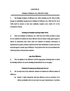 probation of offenders act 1958 bare act pdf