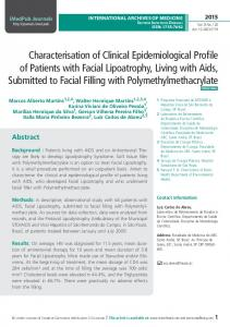 Characterisation of Clinical Epidemiological Profile of Patients with ...