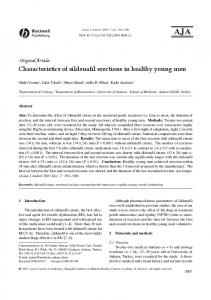 Characteristics of sildenafil erections in healthy ... - Wiley Online Library