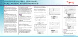 Characterization and Identification of Essential Oil Components by GC ...