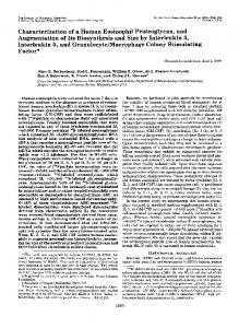 Characterization of a human eosinophil proteoglycan, and ...