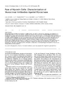 Characterization of Monoclonal Antibodies Against ... - Oxford Journals