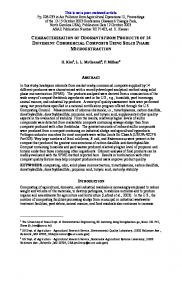 characterization of odorants from products of 14 different commercial ...
