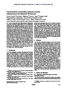 Characterization of subsurface polycyclic ... - Wiley Online Library