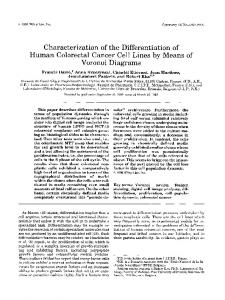 Characterization of the differentiation of human ... - Wiley Online Library