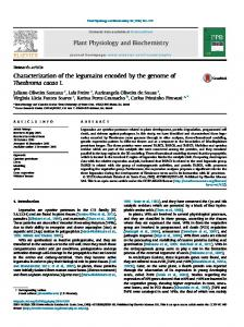Characterization of the legumains encoded by the genome of ... - Core