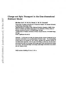 Charge and Spin Transport in the One-dimensional Hubbard Model