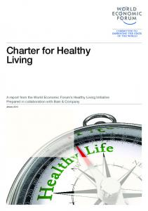 Charter for Healthy Living