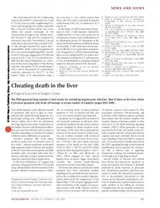 Cheating death in the liver - Nature