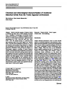 Chemical and mineralogical characterisation of ... - Springer Link