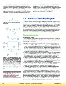 Chemical Crosslinking Reagents