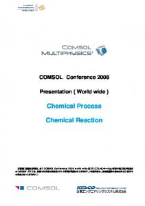 Chemical Process Chemical Reaction