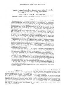 Chemistry and radiation effects of thorite-group minerals from the ...