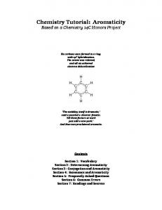 Chemistry Tutorial: Aromaticity