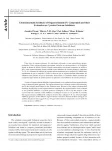 Chemoenzymatic synthesis of organoselenium (IV) compounds and