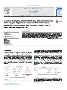 Chemoselective hydrogenation of nitrobenzyl ethers