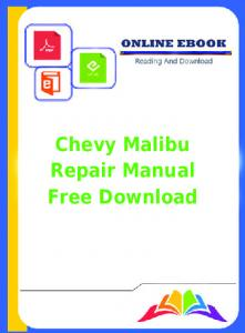 Chilton repair manual 2003 chevy cavalier productmanualguide chevy malibu repair manual free download productmanualguide fandeluxe Images