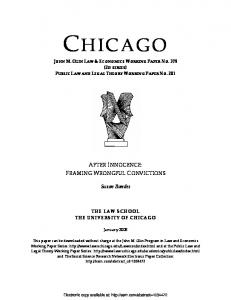 chicago - SSRN papers