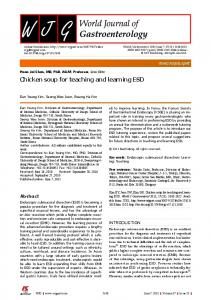 Chicken soup for teaching and learning ESD