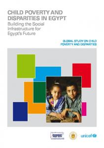 Child Poverty and Disparities in Egypt.pdf - Unicef