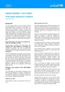 Child Rights Act - Unicef