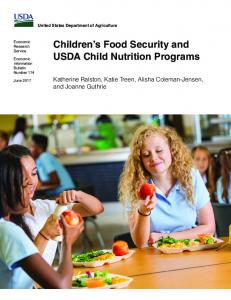 Children's Food Security and USDA Child Nutrition ... - USDA ERS