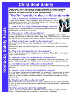 ChildSeat 2012.pub - Kentucky Transportation Cabinet