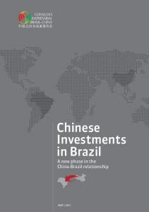 Chinese Investments in Brazil