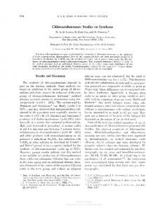 Chloroazobenzenes: Studies on Syntheses