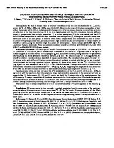 CHONDRULE OXYGEN ISOTOPE SYSTEMATICS IN ...