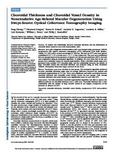 Choroidal Thickness and Choroidal Vessel ... - Semantic Scholar