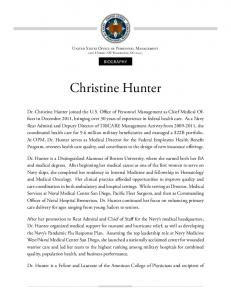 Christine Hunter