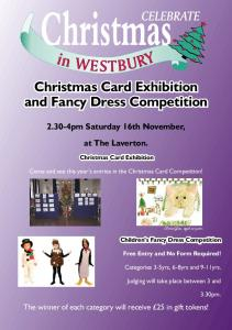 Christmas Card Exhibition and Fancy Dress Competition