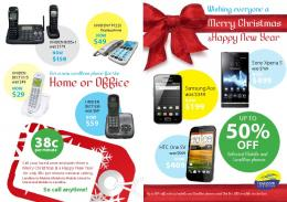 christmas catalogue 2013 - Telecom Cook Islands