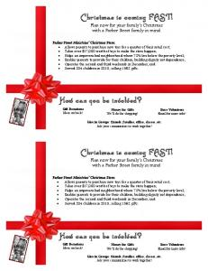 Christmas is coming FAST! How can you be involved? Christmas is ...