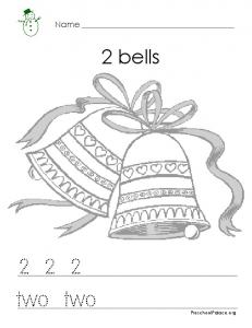 Christmas Math - 2 Bells - HRSBSTAFF Home Page