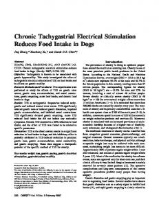 Chronic Tachygastrial Electrical Stimulation ... - Wiley Online Library