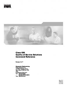 Cisco IOS Configuration Fundamentals Command Reference