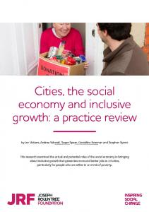 Cities, the social economy and inclusive gro  th - The Joseph ...