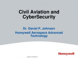 Civil Aviation and CyberSecurity