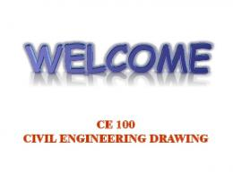 Civil Engineering Drawing - University of Asia Pacific