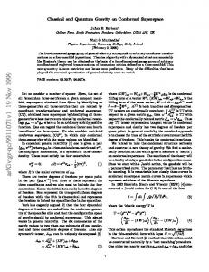 Classical and Quantum Gravity on Conformal Superspace