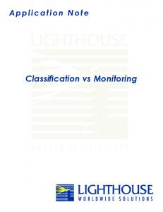 Classification_vs_Monitoring.pdf - Lighthouse Worldwide Solutions ...