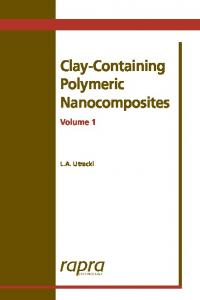 Clay-Containing Polymeric Nanocomposites